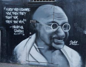 Mahatma Ghandi, Foto: Jay Galvin
