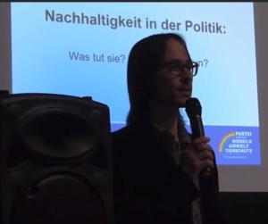Vortrag Nachhaltigkeit in der Politik