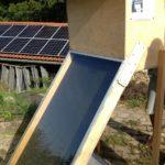 Solar-Dörr-Ofen in der Kommune Sulzbrunn