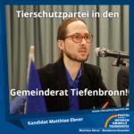 Matthias Ebner Gemeinderat Tiefenbronn